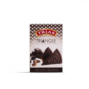 Triangle doble xocolata 160 g